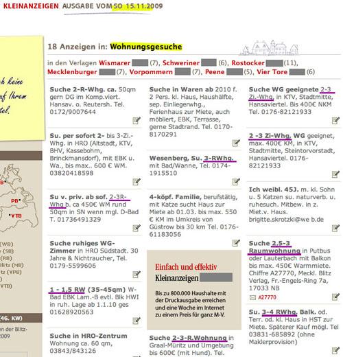 2009-11_Wohnungsanzeigen