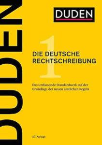 Duden Rechtschreibung In 27 Auflage Was Ist Neu Federwerk